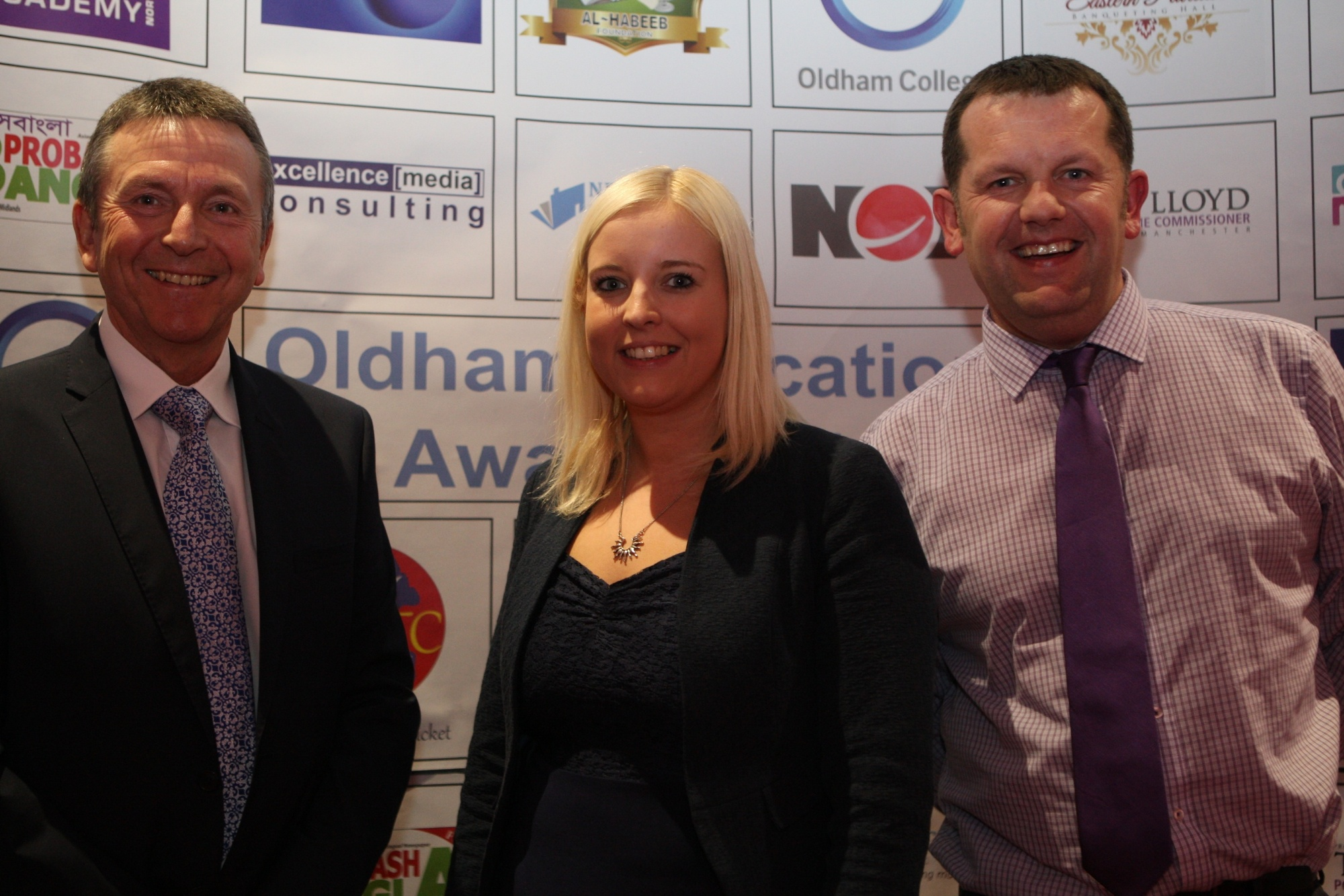 Oldham Schools Award 2015. Phil Wareing 2015
